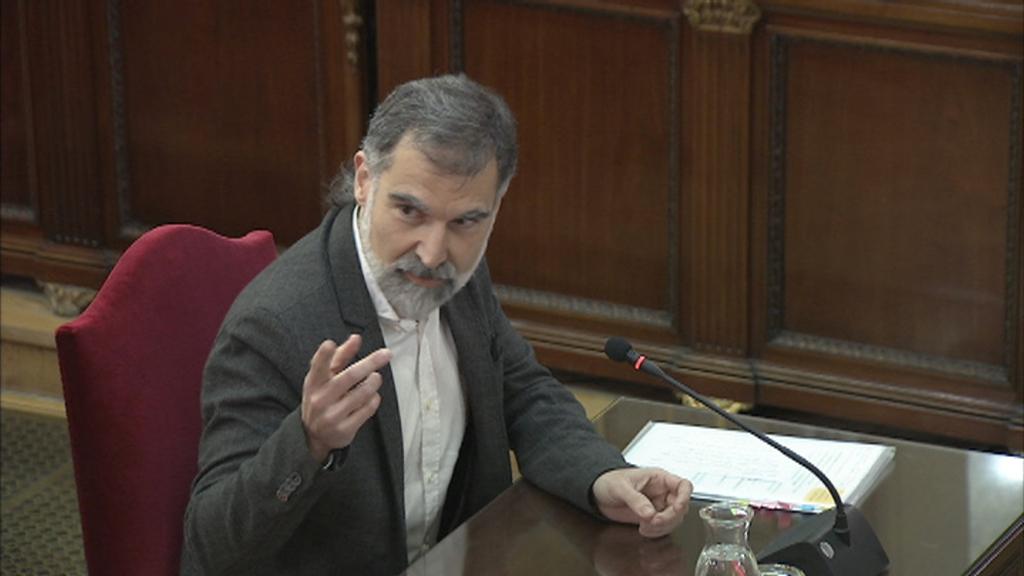 Jordi Cuixart declarant al judici 26/02/19