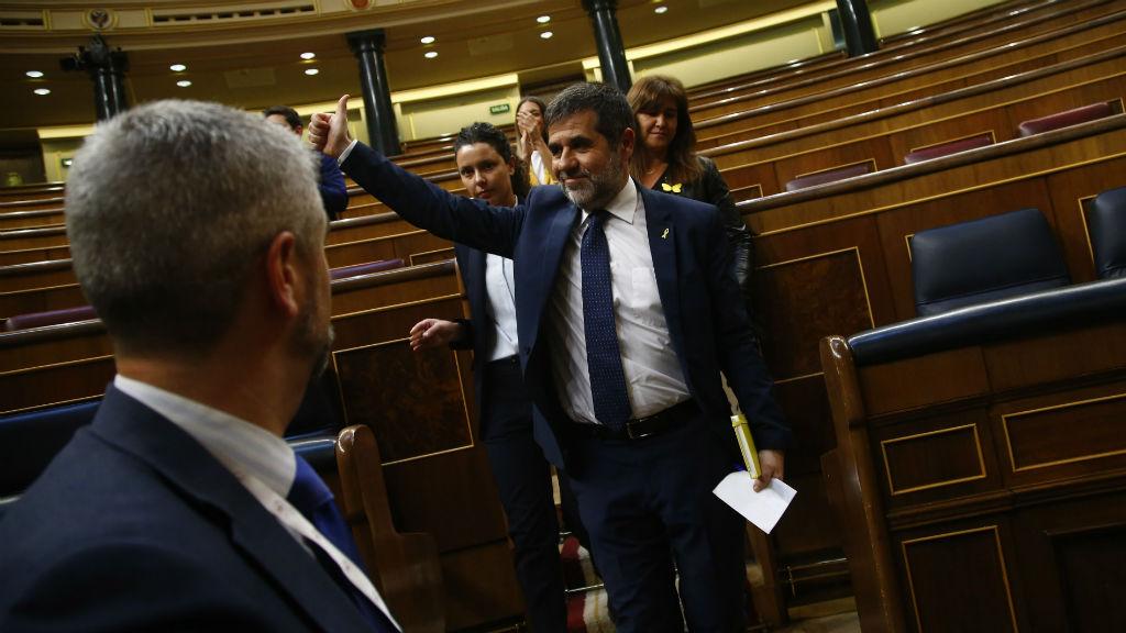 Jordi Sànchez al Congrés Diputats