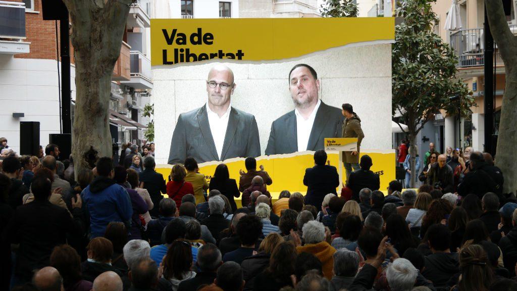 Oriol Junqueras i Raul Romeva