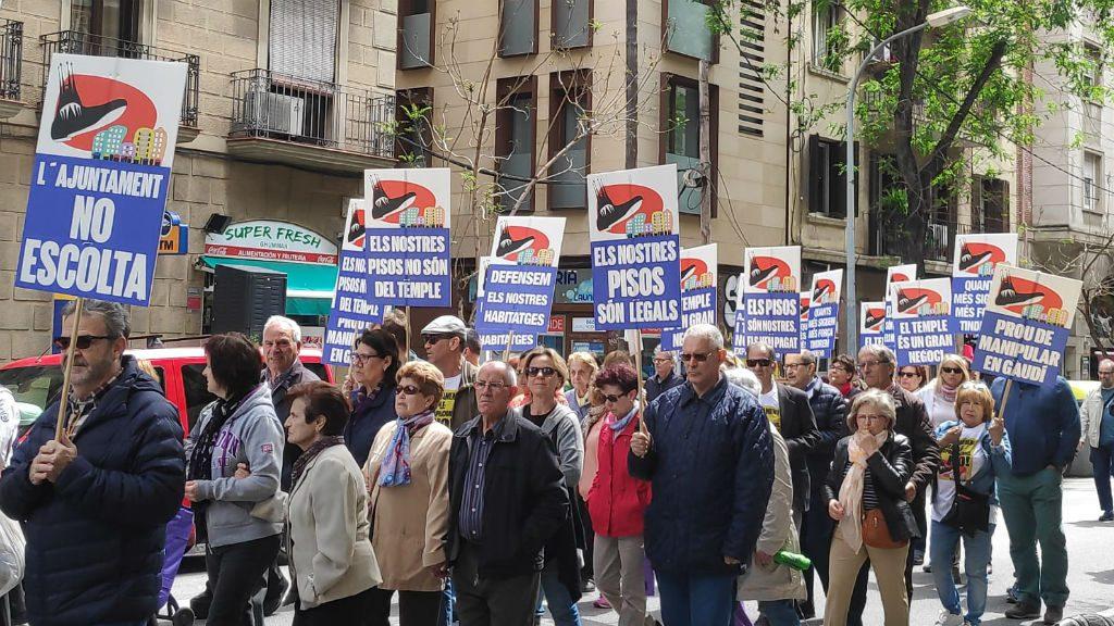 Manifestació Sagrada Família