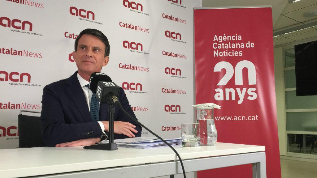 Manuel Valls a l'ACN