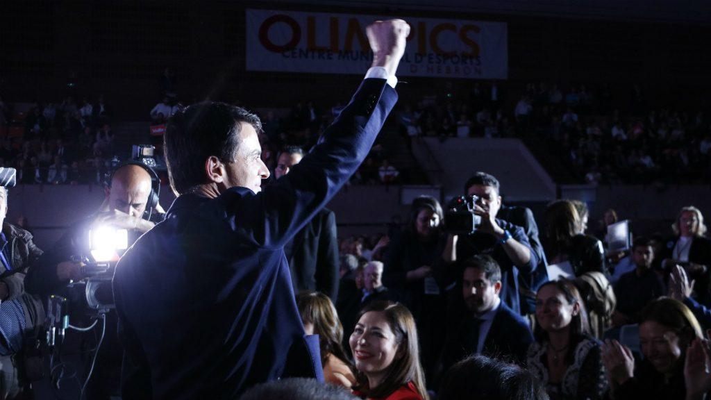Manuel Valls en acte central de campanya
