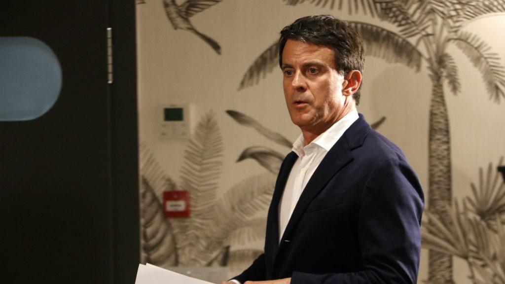 Manuel Valls al Gallery Hotel