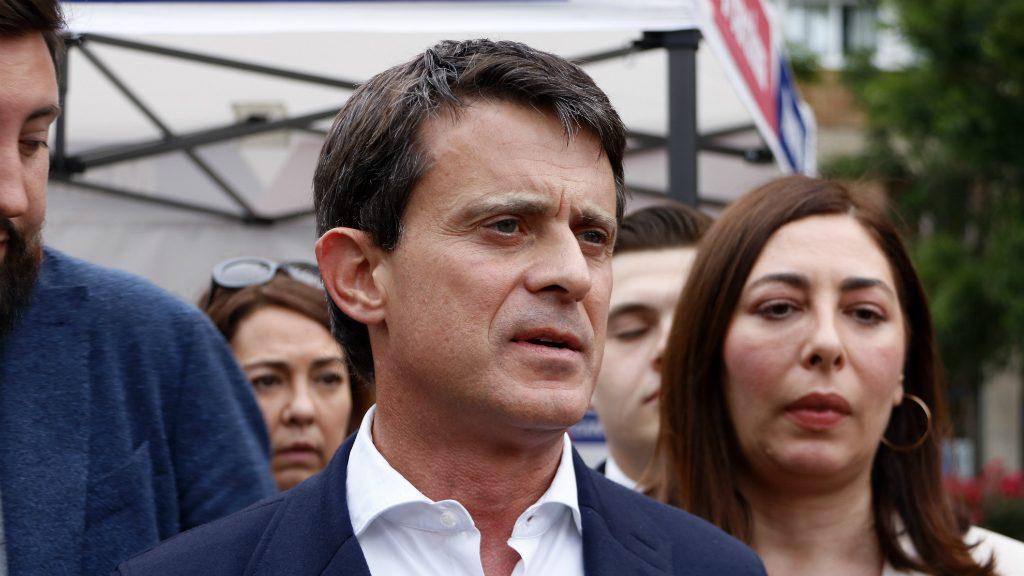 Manuel Valls a la Sagrera