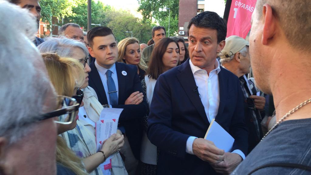 Manuell Valls a Verneda i la Pau