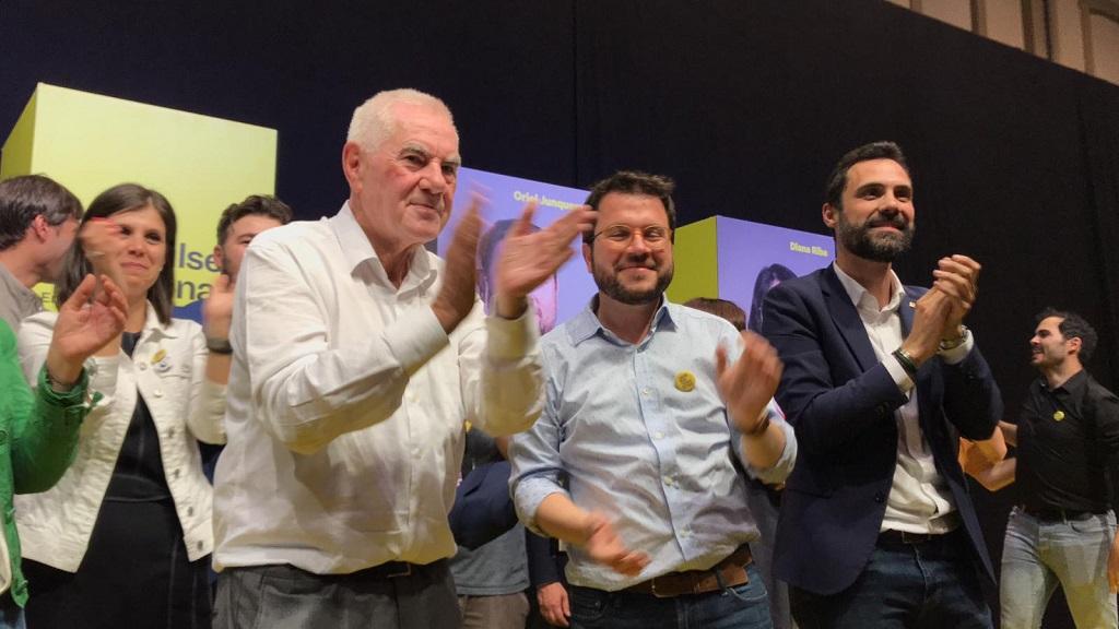 Maragall celebra la victòria d'ERC