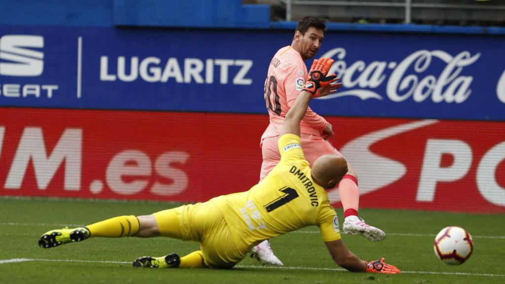 El Barça empata al camp de l'Eibar