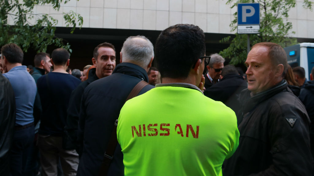 Nissan i sindicats