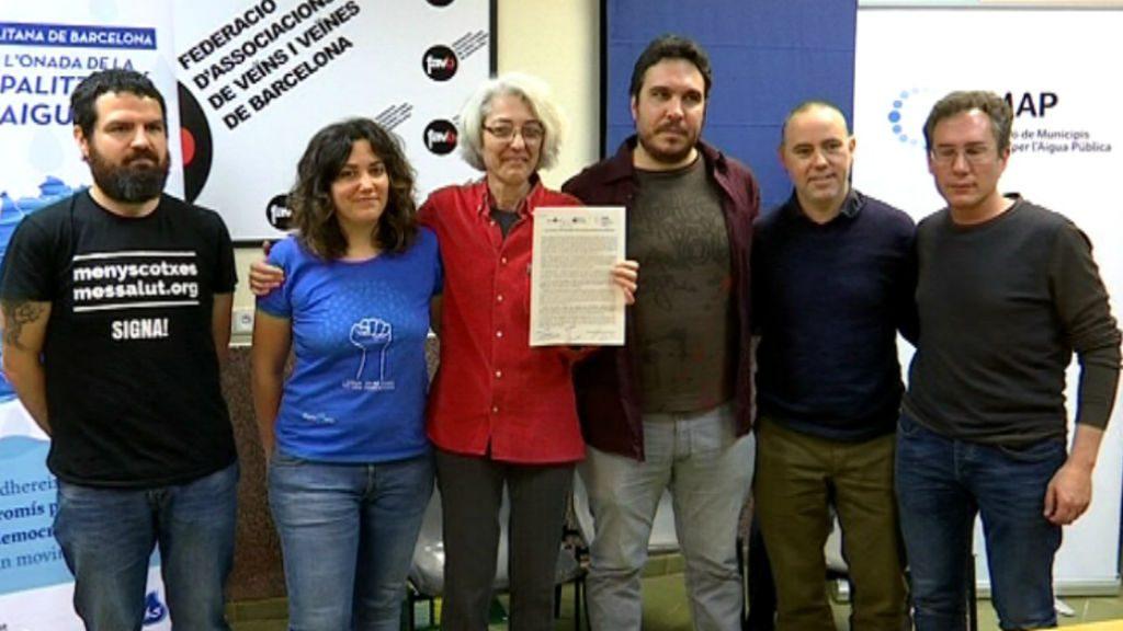 pacte aigua BComú, ERC i CUP