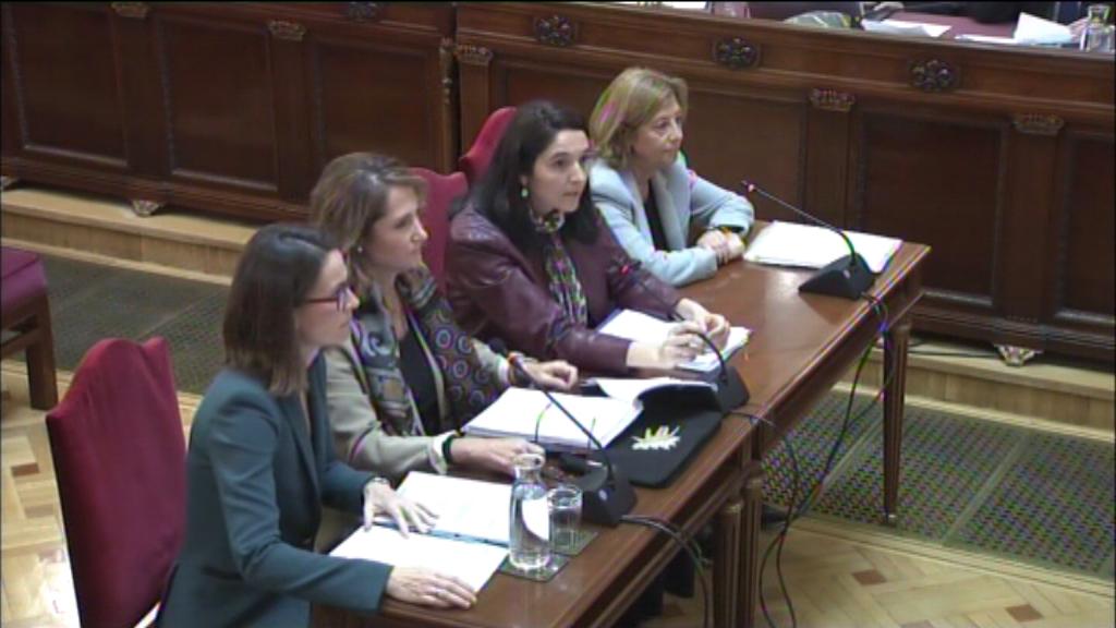 Pèrites citades al judici del procés a proposta de l'acusació