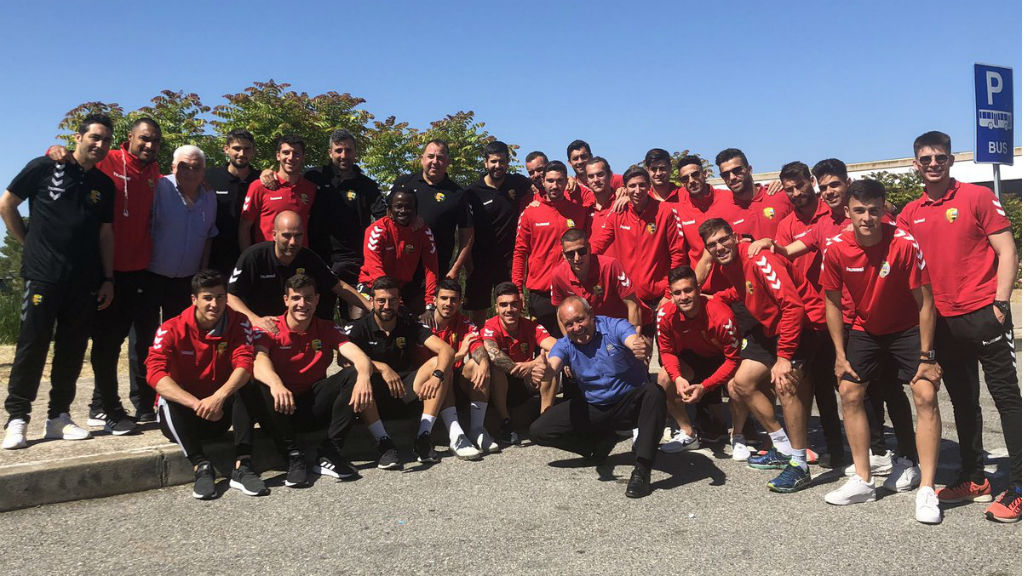 El Llagostera visita el camp del Portugalete