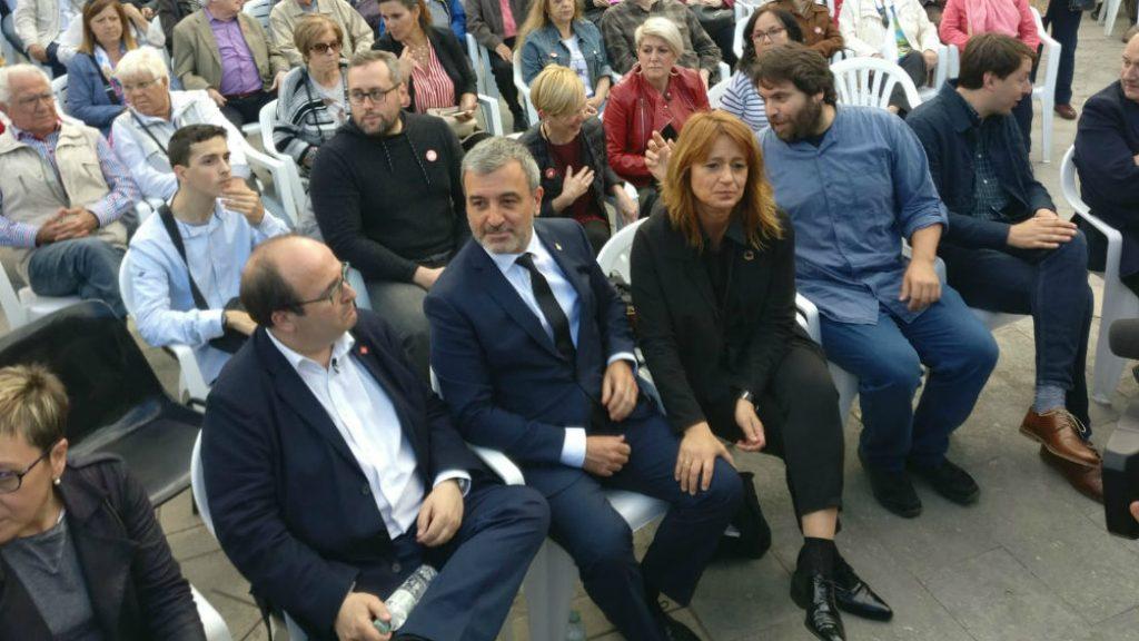 Jaume Collboni, Miquel Iceta i Laia Bonet