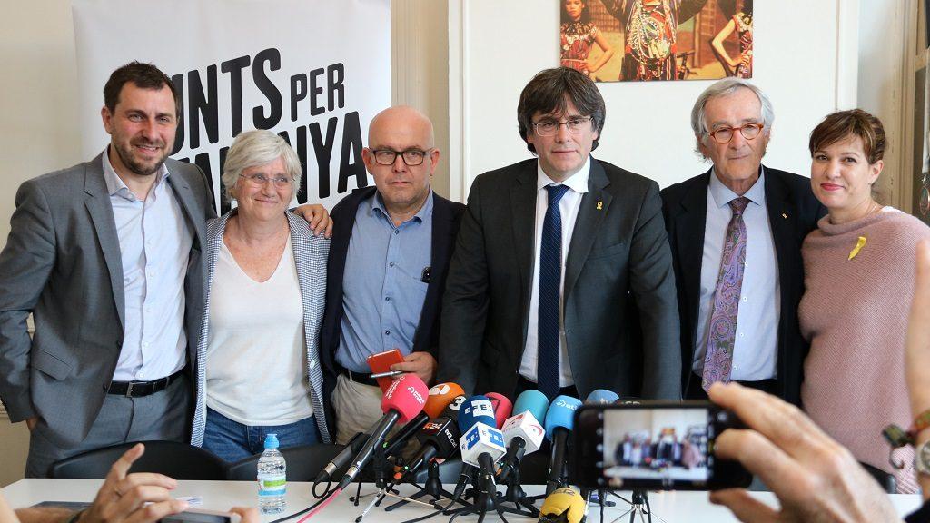 Pla conjunt de Comín, Boye, Ponsatí, Puigdemont, Trias i Talegón