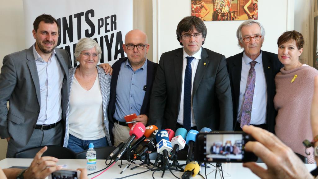Puigdemont, Ponsatí i Comín