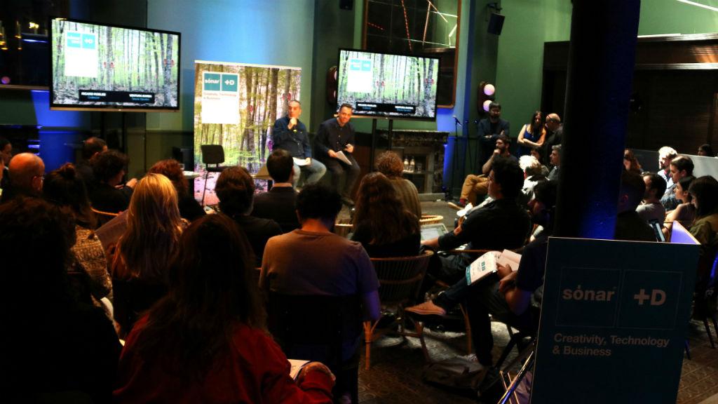 Roda de premsa del congrés internacional Sónar +D, integrat en el festival Sónar