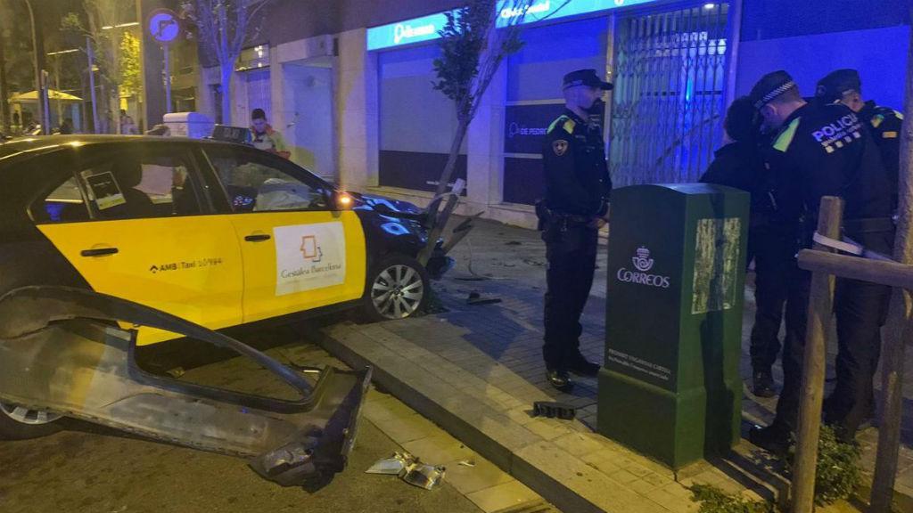 guardia urbana atracament taxi