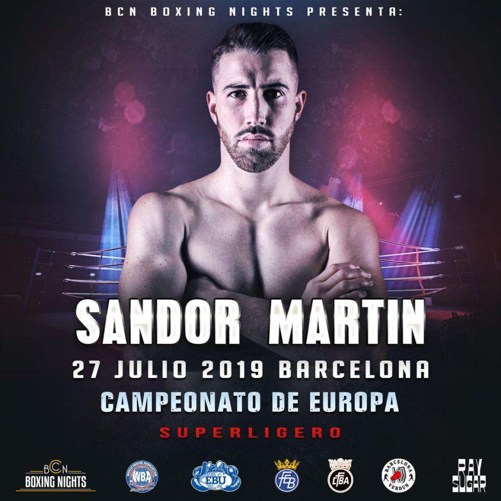 Sandor Martín disputarà l'Europa al camp de la Monta