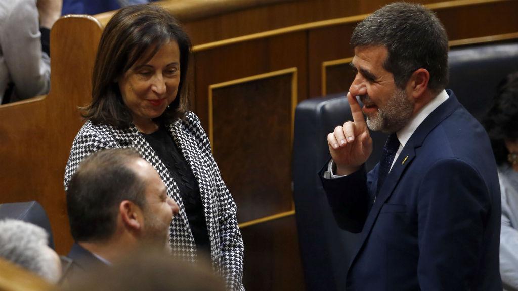 Jordi Sànchez al Congrés dels Diputats