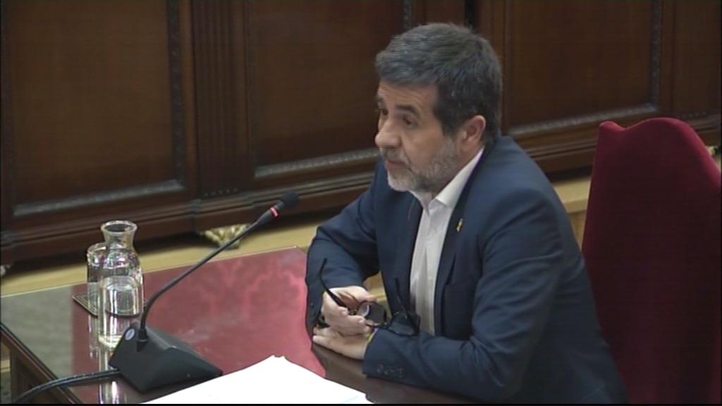 Jordi Sànchez en l'últim torn de paraula al judici del