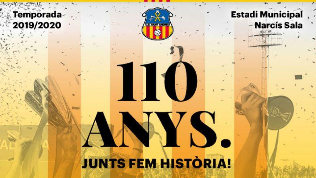 abonaments del Sant Andreu 2019-2020