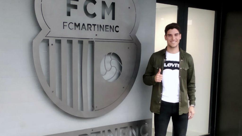 Adri Pulido fitxa pel Martinenc
