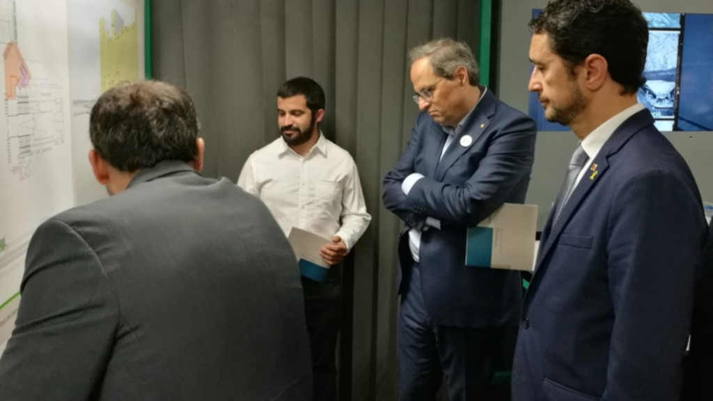 Autoritats inauguren remodelació estació de Provença