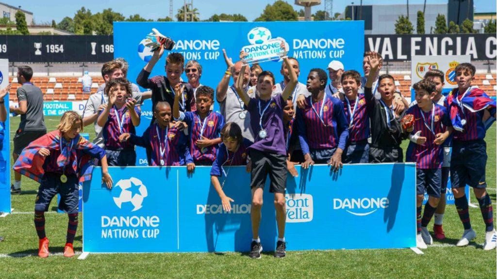 Barça campió de la Danone Nations Cup