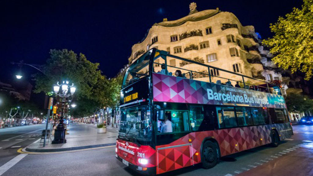 bus turístic nocturn