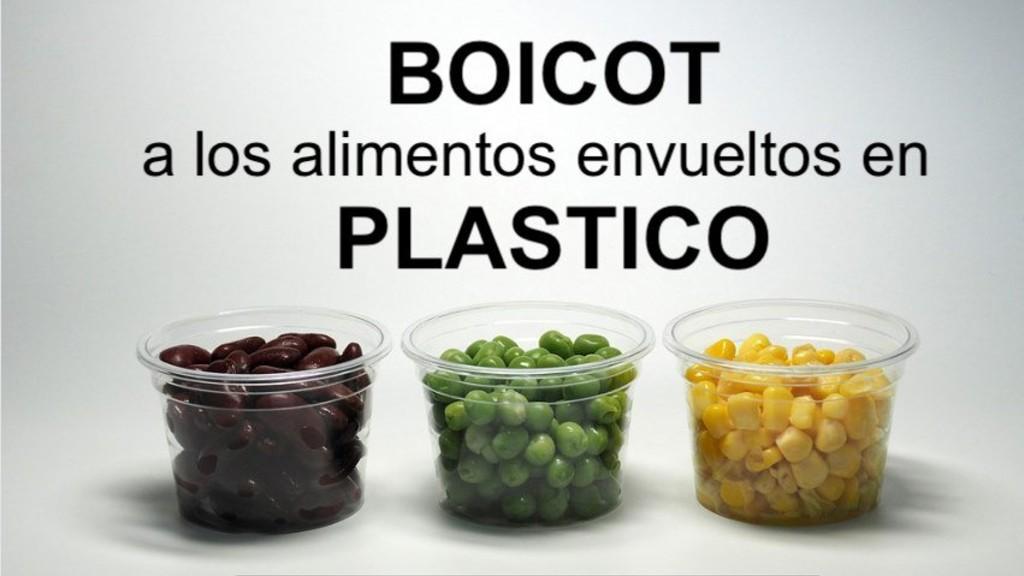 Campanya boicot plàstic