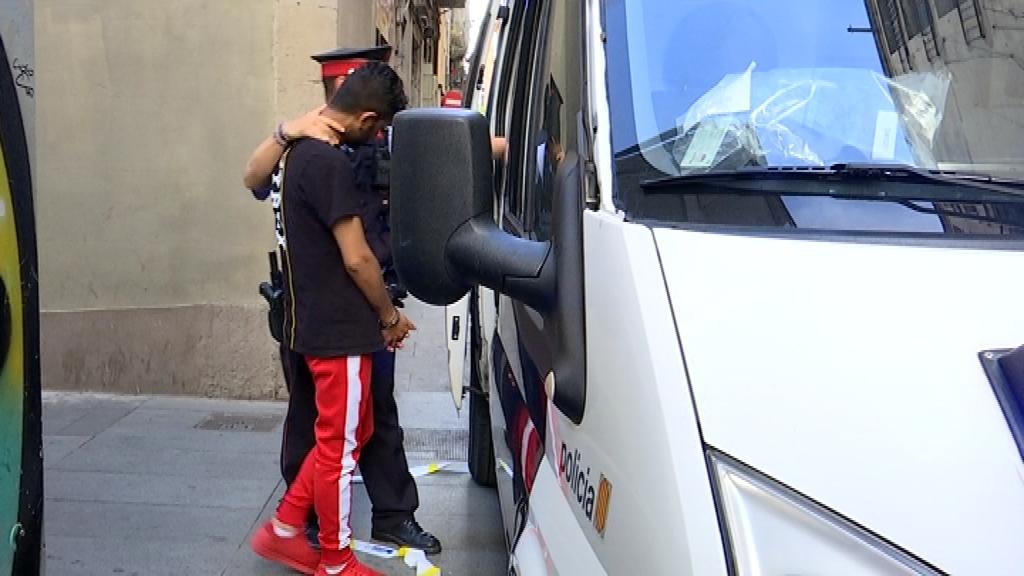 Narcotraficant detingut pels Mossos d'Esquadra