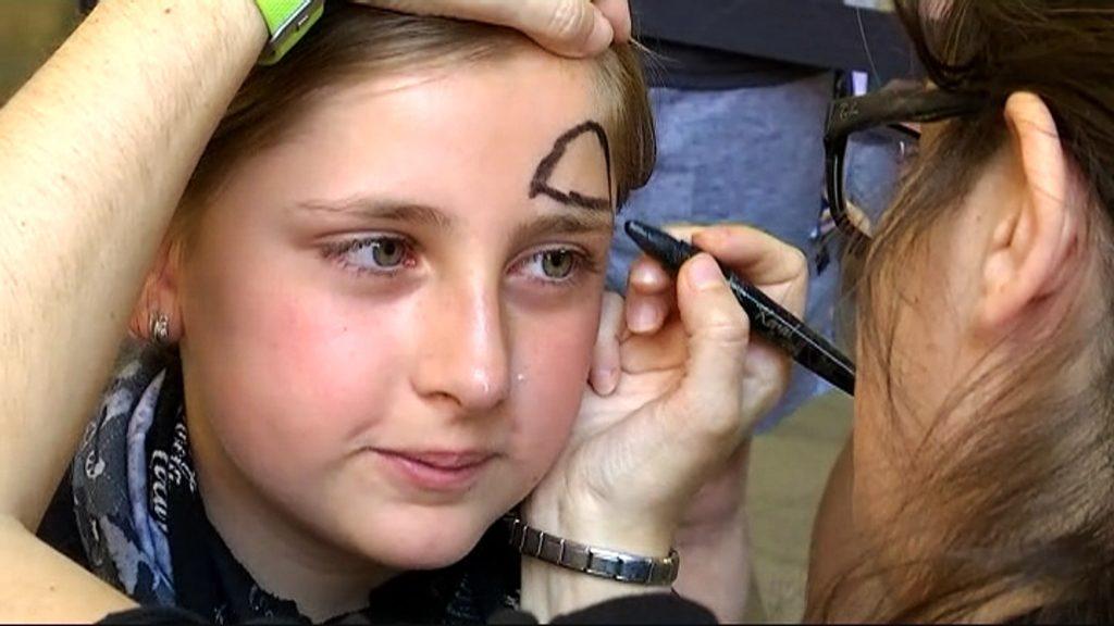 Maquillatge a la Fabra i Coats