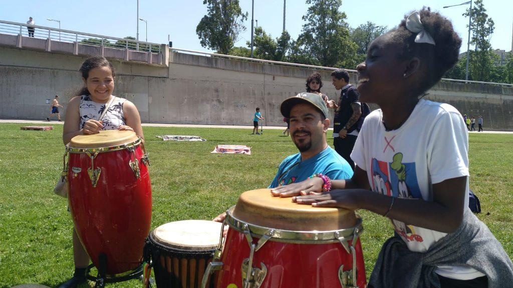 Festa refugiats Parc Fluvial del Besòs
