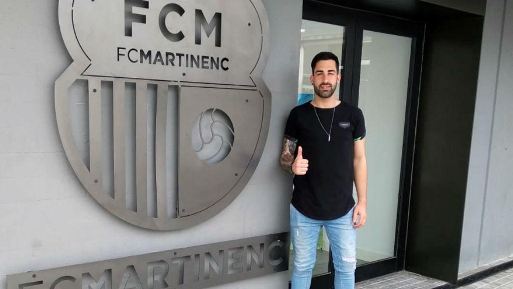Gabri Padrós fitxa pel Martinenc