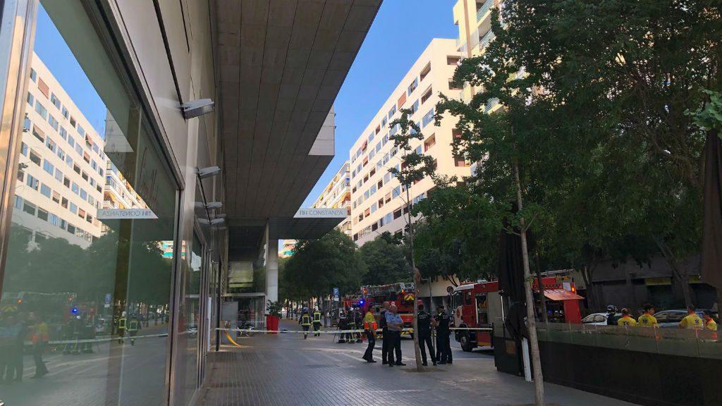 Incendi hotel NH Constanza
