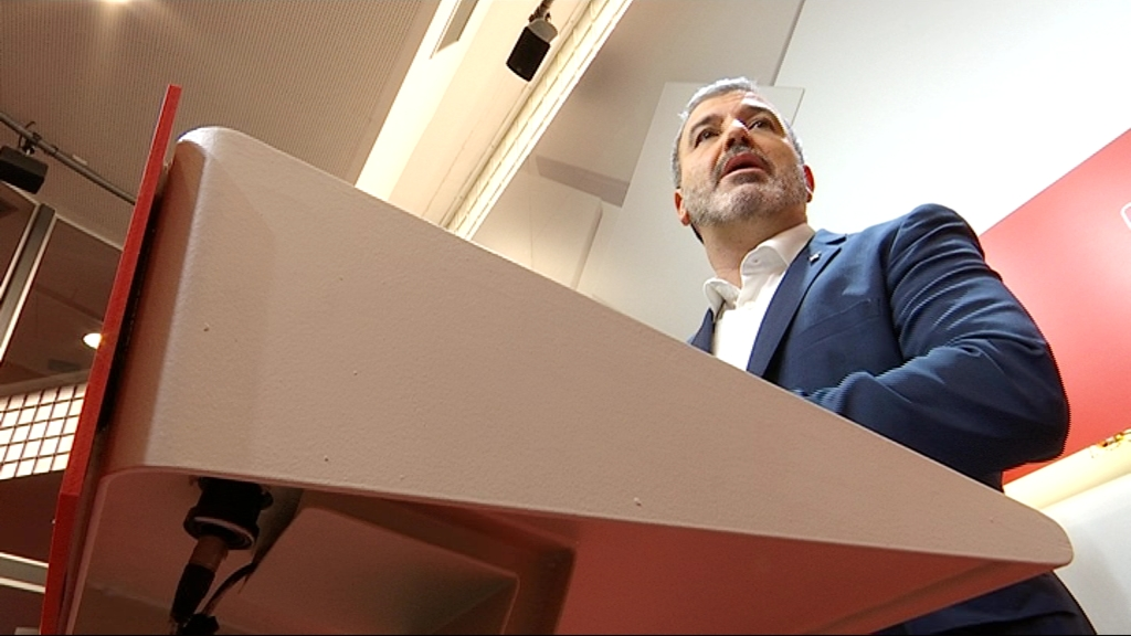 Jaume Collboni seu PSC