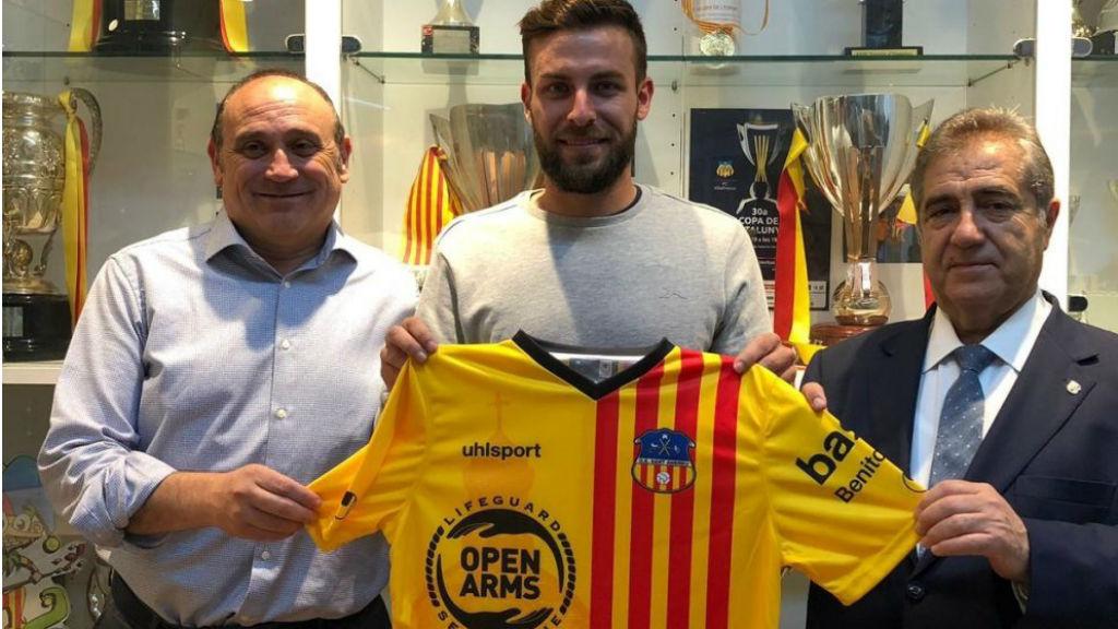 Joan Noguera renova amb el Sant Andreu