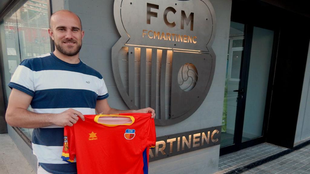 Joan Vendrell, nou fitxatge del Martinenc