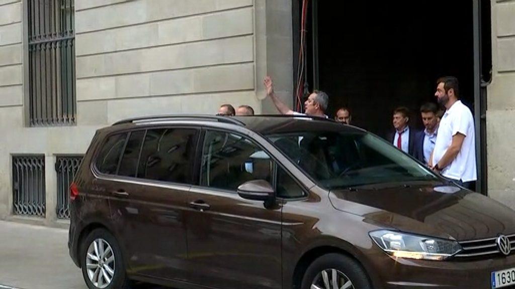 Joaquim Forn torna a la presó