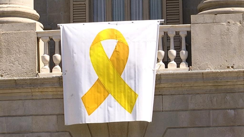 llaç groc Ajuntament Barcelona