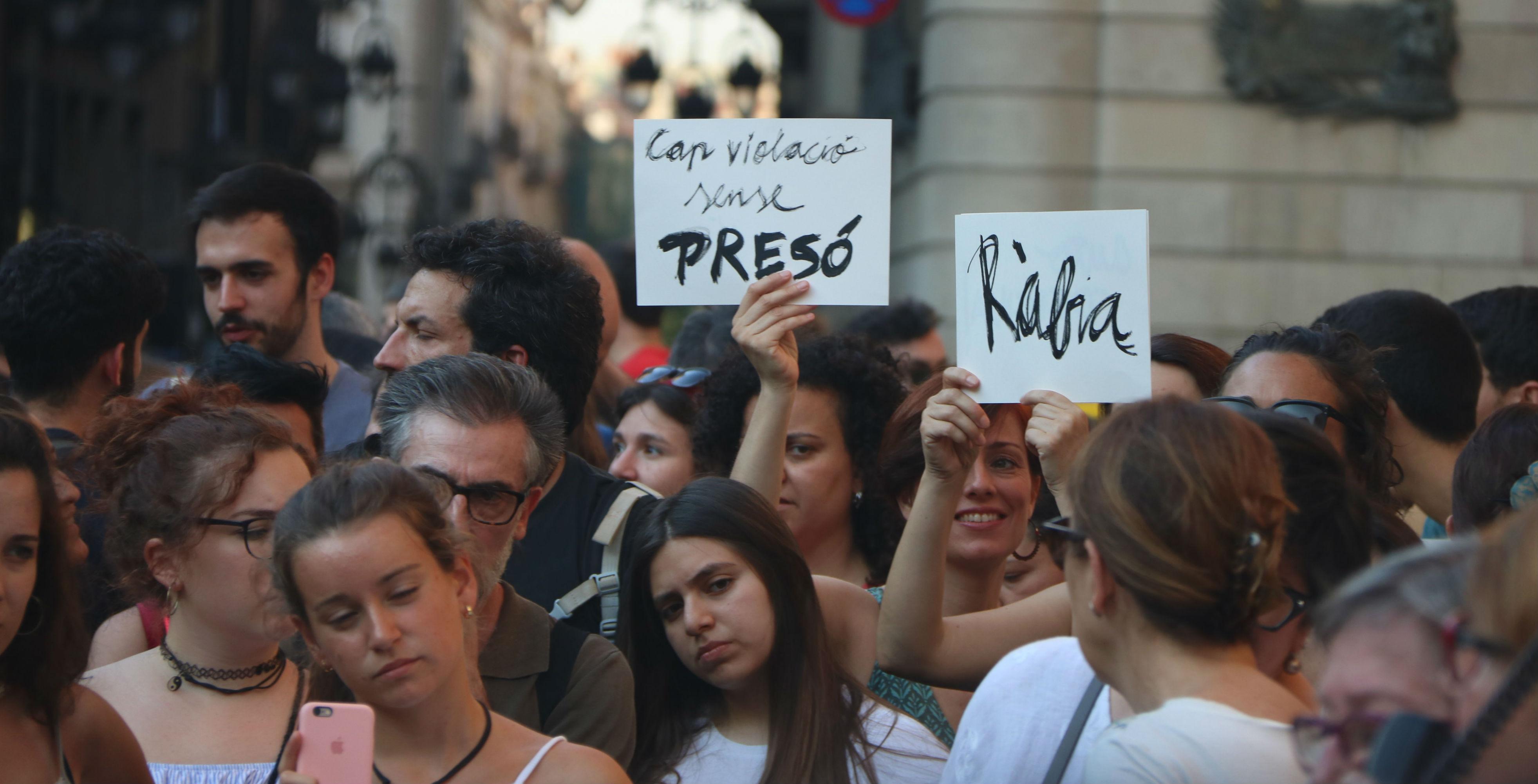 Manifestació La Manada