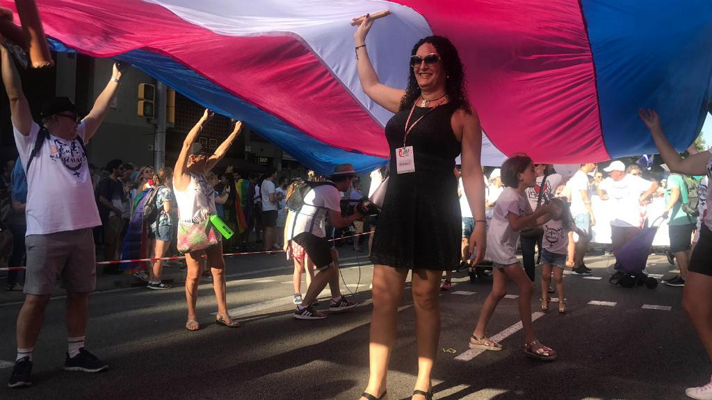 Manifestació del Pride a Barcelona