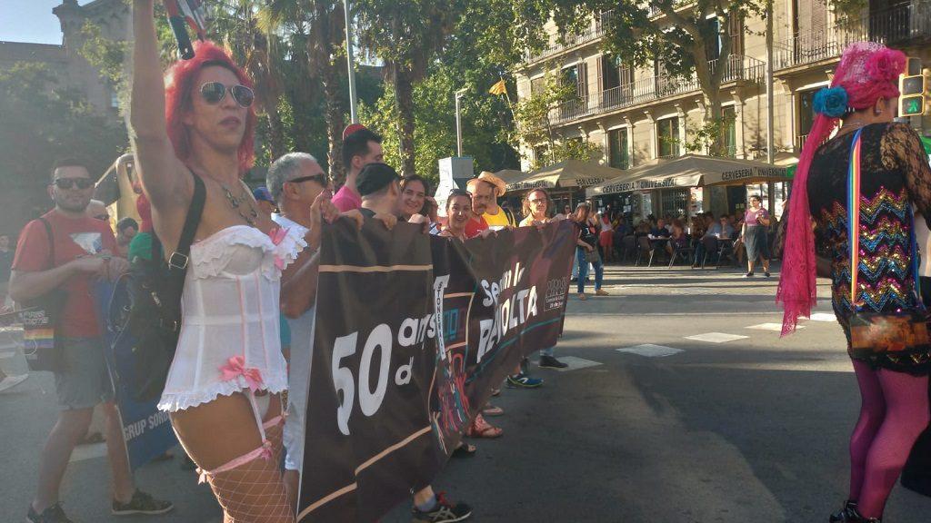 Manifestació unitària de l'orgull LGTBI
