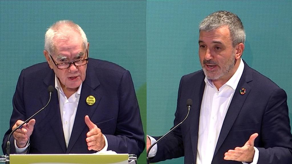 Ernest Maragall i Jaume Collboni
