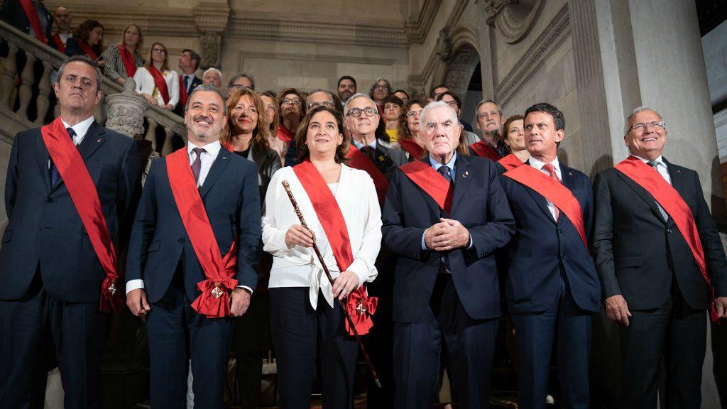 Fotografia regidors Ajuntament de Barcelona