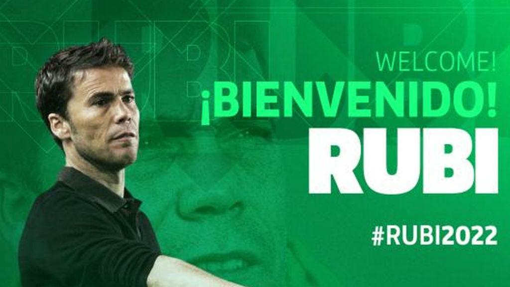 Rubi nou entrenador del Betis