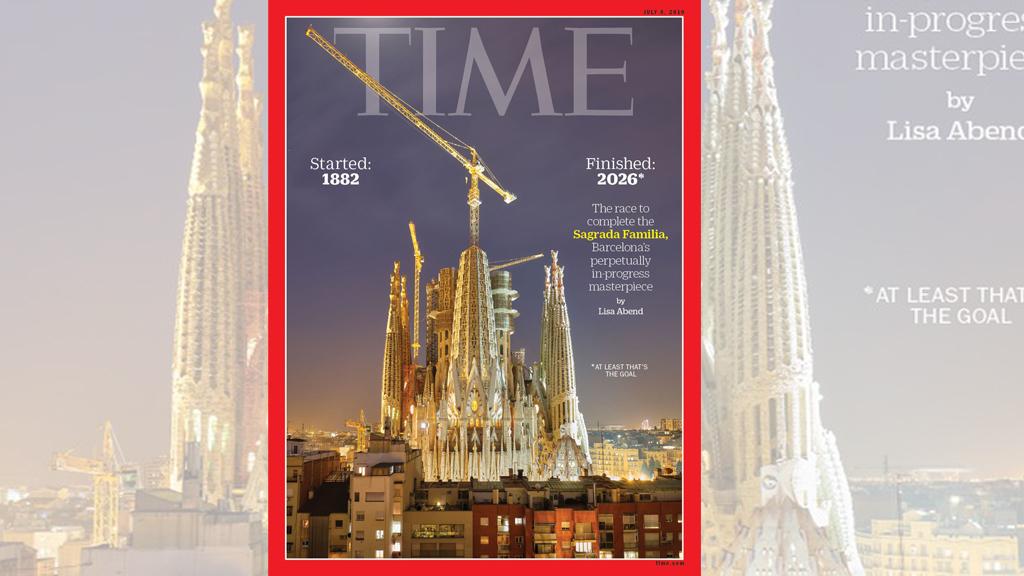 Sagrada Família, portada de 'Time'
