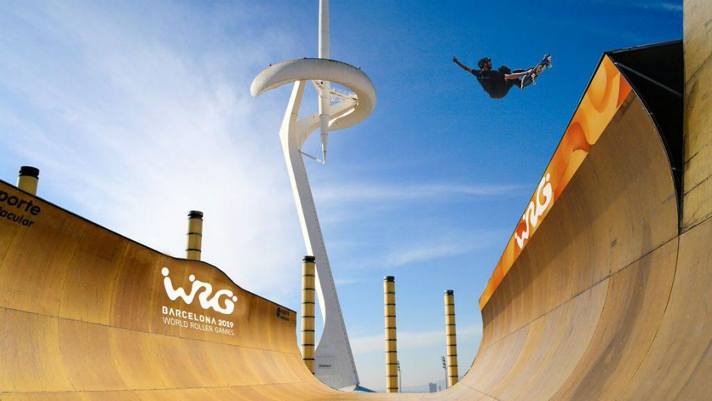 Presentació dels World Roller Games Barcelona 2019