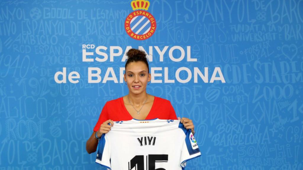 """Yaiza Relea, """"Yiyi"""", jugadora RCD Espanyol"""