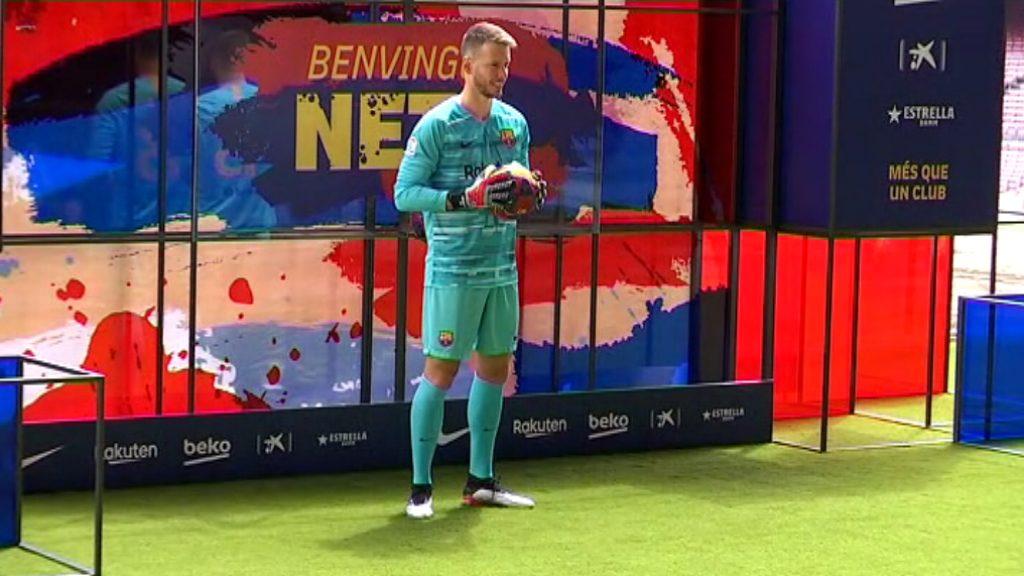 """Norberto Numara """"Neto"""", jugador FC Barcelona"""