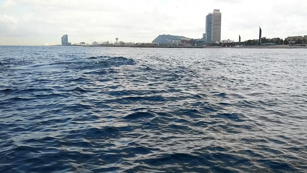 aigua mar Barcelona